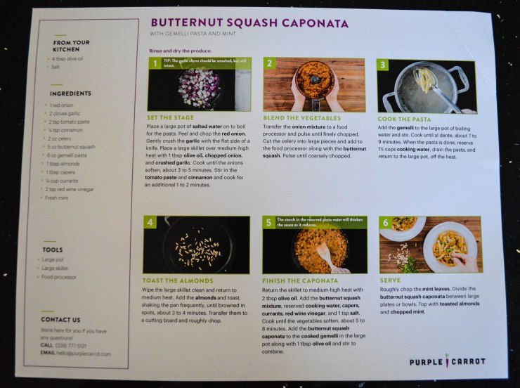 Caponata recipe card (1 of 1)